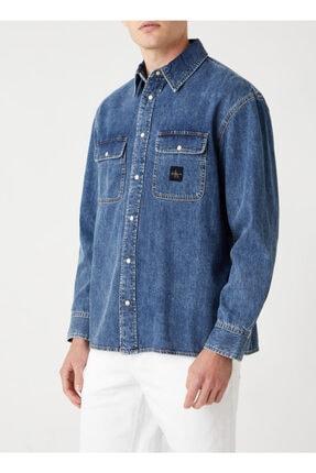 Calvin Klein Mavi Gömlek