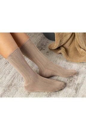 English Home Caraline Bambu Kadın Çorap Bej