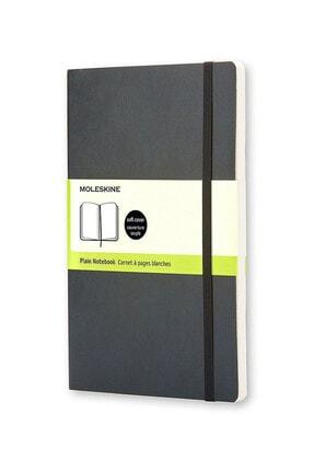Moleskine Siyah Soft Cover Düz Defter 192yp. - 13x21cm