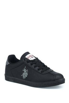 U.S. Polo Assn. Tabor Wt 1pr Siyah Kadın Sneaker