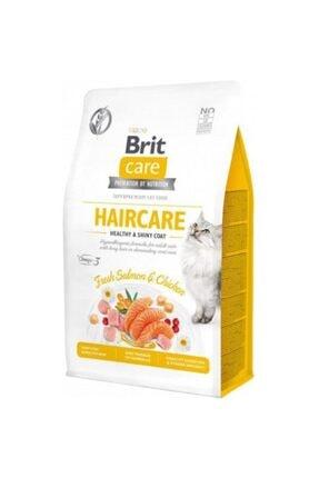 Brit Care Hipoalerjenik Haircare Tavuk Ve Somonlu Tahılsız Deri Ve Tüy Bakım Kedi Maması 400 Gr