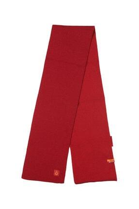 Galatasaray Kırmızı Triko Atkı