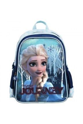 Frozen Lisanslı Çift Gözlü Okul Çantası