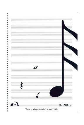 ÇINAR DİZAYN A4 Müzik Defteri 30 Yp.  Spr. Pp. Kpk.