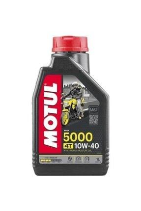 Motul 5000 10w40 4 Zamanlı Motosiklet Yağı 1 Lt. (üretim Tarihi 2021)