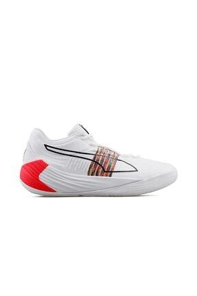 Puma Fusion Nitro Erkek Basketbol Ayakkabısı 19568401 Beyaz