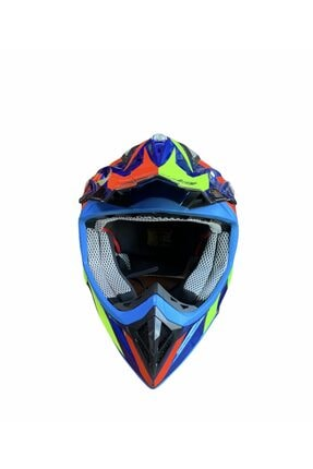 Free-M Fr-801 Enduro Kross Motorsiklet Kaskı