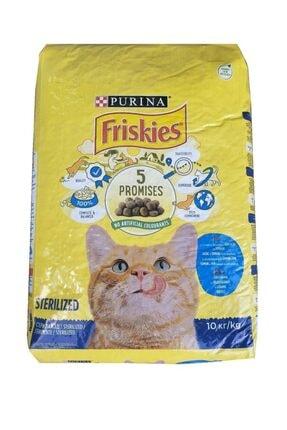 Friskies Somonlu Ve Sebzeli Kısırlaştırılmış Kedi Maması 10 Kg