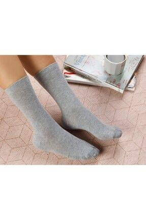 English Home Lucky Pamuk Kadın Çorap Gri