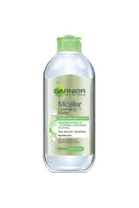Garnier Micellar Arındırıcı Makyaj Temizleme Suyu Karma Hassas Ciltler 400 ml