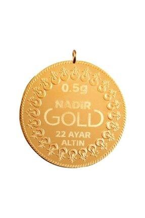 Nadir Gold 0,50 Gram 22 Ayar Kulplu Altın