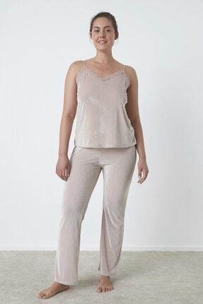 Penti Pale Velvet Pijama Altı