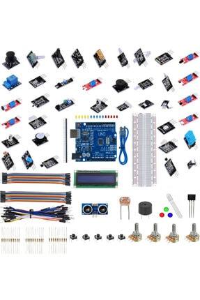 Arduino Emes Robotik Uno R3 161 Parça Robotik Kodlama Uygulamaları Mega Başlangıç Seti M1