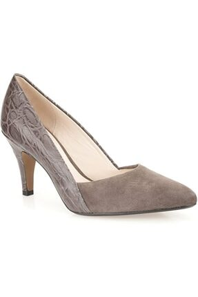 CLARKS Şık Ve Rahat Ayakkabı Topuk 8,5 cm Süet Ve Kabartmalı Timsah Derisi Ürün Adı Dalhart Grove