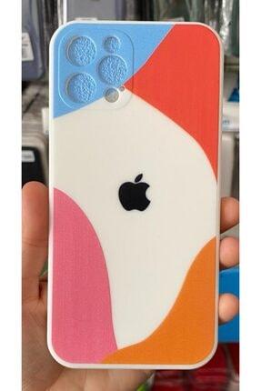 Go Aksesuar Iphone 12 Pro (6.1) Uyumlu Victoria's Logolu Kamera Korumalı Içi Kadife Silikon Kılıf