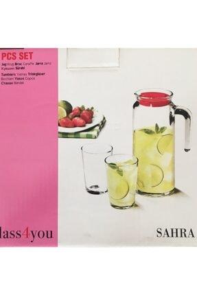 Paşabahçe Sahra Glass 4 You 7+1 Parça Sürahi Takımı