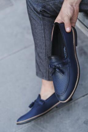 Oksit Hty Miles Püsküllü Loafer Ayakkabı