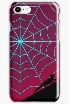 Universal Iphone 8 Telefon Kılıfı Silikon Örümcek Alacakaranlık Serisi - Örümcek Gwen