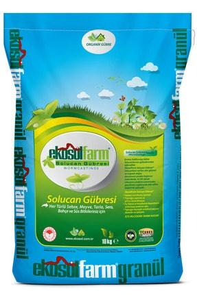 EkosolFarm %100 Solucan Gübresi 10 Kg Organik Gübre