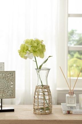 English Home Hortensia Tek Dal Yapay Çıçek 70 Cm Yeşil