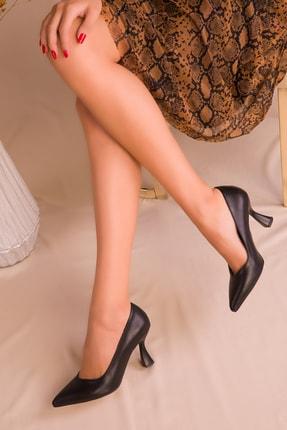 SOHO Kadın Siyah Klasik Topuklu Ayakkabı 16549