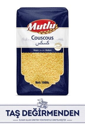 Mutlu Makarna Fas Kuskus Moyen (medium) 1 Kg / Morocco Couscous