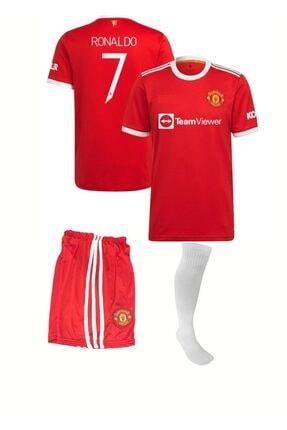 MG Ronaldo Çocuk Futbol Forma Tişört Takımı Çorap Hediyeli