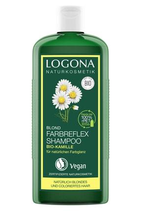 Logona Sarı Saçlar Için Boya Bakım Şampuanı - Organik Papatya Özlü 250ml