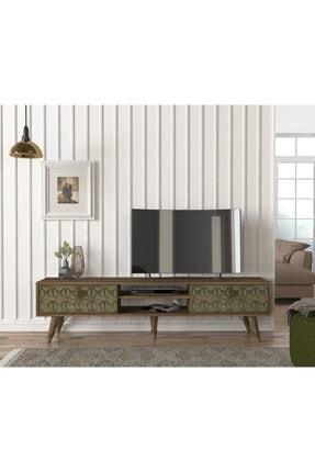 Dekorister Exclusive Valente Tv Sehpası Ceviz Garden