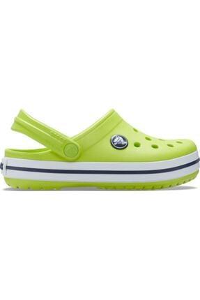Crocs Kids Unisex Çocuk Sarı Crocband Clog K Terlik Lime  204537-3tx
