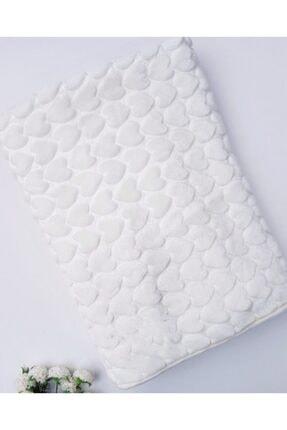 Merinos Beyaz Kalpli Bebe Battaniyesi