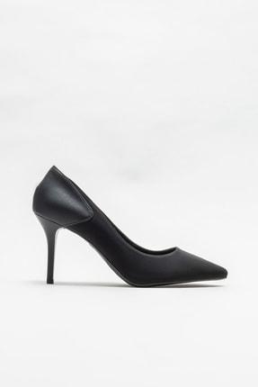 Elle Shoes Siyah Kadın Stiletto