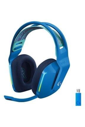 logitech G G733 Kablosuz 7.1 Surround Ses Oyuncu Kulaklığı - Mavi
