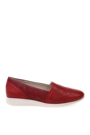 Cotton Bar Kırmızı Düz Ayakkabı