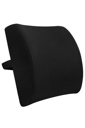 AnkaWood Ortopedik Sandalye Koltuk Ofis Araba Oto Araç Bel Destek Yastığı Sırt Desteği Minderi