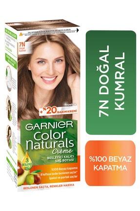 Garnier Color Naturals 7N Doğal Kumral Saç Boyası