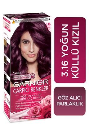 Garnier Çarpıcı Renkler 3.16 Yoğun Küllü Kızıl