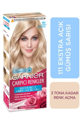 Garnier Açık Gümüş Sarısı Saç Boyası