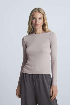 Oysho Modal Uzun Kollu Tişört