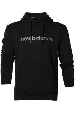 New Balance Mph3144 Nb Lifestyle Hoodie Siyah Erkek Sweatshirt