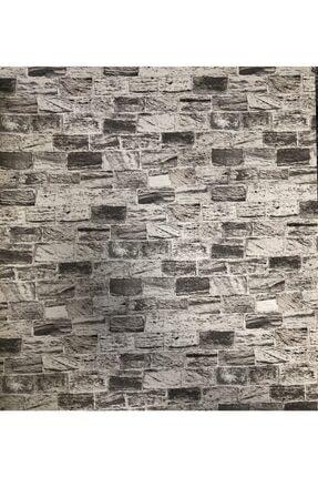 ITALY Krem&vizon Tuğla Desenli 3d Duvar Kağıdı