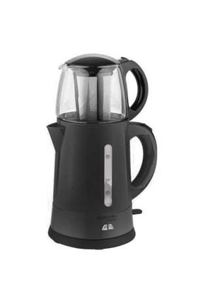 AWOX Teaplus Elektrikli Cam Demlikli Çay Makinesi Siyah