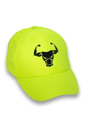 TOROFİT Fosfor Yeşili Şapka