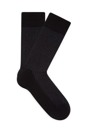Mavi Siyah Çorap 092721-900