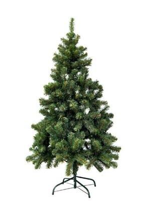 Erka Winterfest Yılbaşı Ağacı Gür Dallı Yılbaşı Çam Ağacı Demir Ayak Demir Gövdeli Noel Ağacı 150 Cm