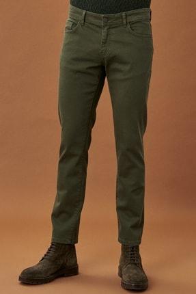 ALTINYILDIZ CLASSICS Erkek Yeşil 360 Derece Her Yöne Esneyen Rahat Slim Fit Pantolon