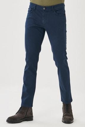 ALTINYILDIZ CLASSICS Erkek Lacivert 360 Derece Her Yöne Esneyen Rahat Slim Fit Pantolon