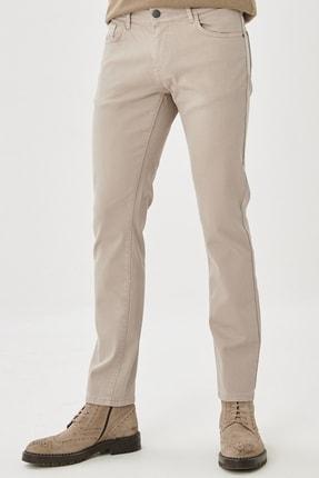 ALTINYILDIZ CLASSICS Erkek Taş 360 Derece Her Yöne Esneyen Rahat Slim Fit Pantolon