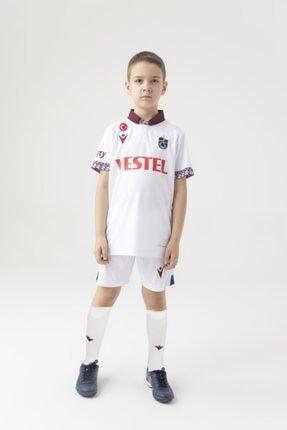 Trabzonspor Macron Forma Beyaz Çocuk