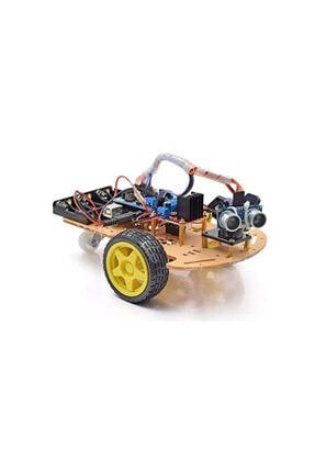 Arduino Emes Robotik Engelden Kaçan 2wd Robot Araba Kiti C1